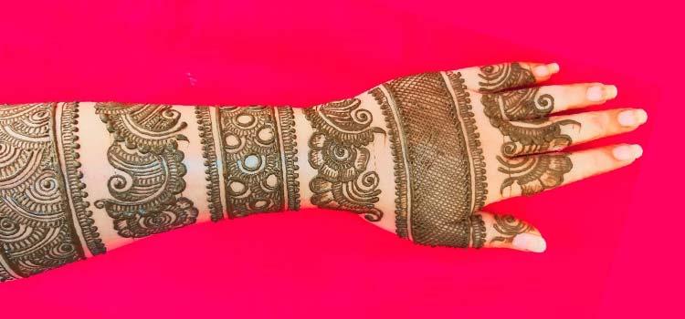 Bangle style mehndi