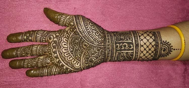 Full hand Raksha Bandhan mehendi