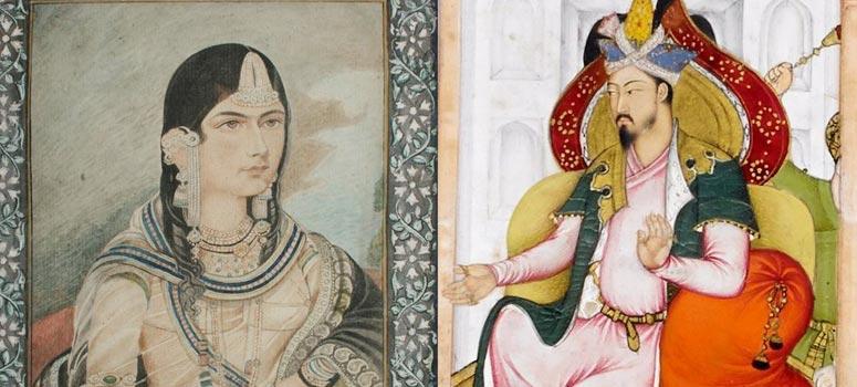 Humayun and Rani Karnavati