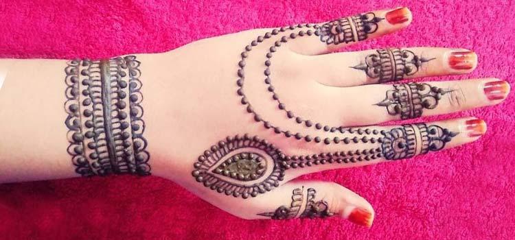 Jewelry mehendi design