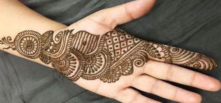 Latest Mehndi Designs for Raksha Bandhan