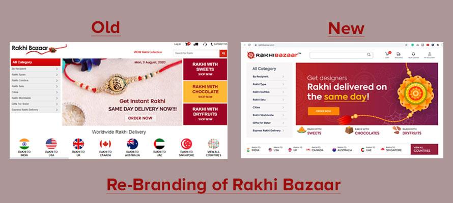 Re-Branding of Rakhi Bazaar