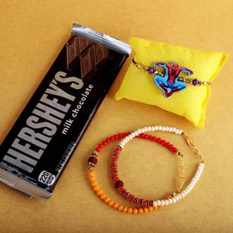 Sleek Rakhis, Kids Rakhi & Hersheys