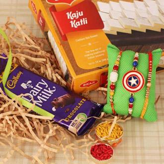 Rakhi Pair, Kids Rakhi, Cadbury & KK