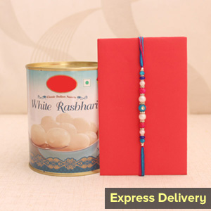 Alluring Rakhi with Ras Bhari