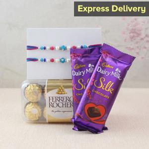 Delicious Chocolaty Rakhi Surprise