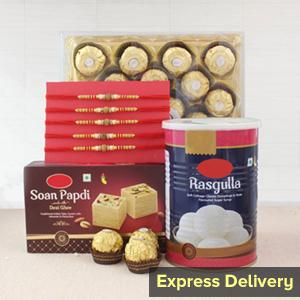 Best Rakhi Gift Hamper