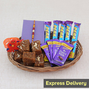 Rakhi Basket of Sweetholics