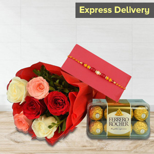Eye-Pleasing Rakhi Surprise for Brother