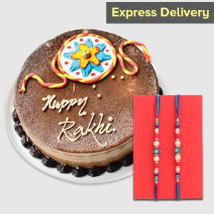 Sweet Chocolaty Rakhi Surprise