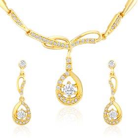 Oviya Luxurious Brilliance Necklace Set