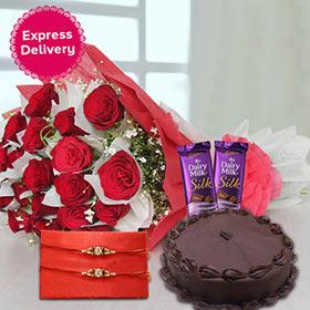 Affectionate Rakhi Present