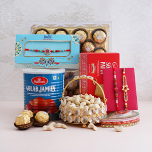 Flavourful Delights your Way - Rakhi Over 2499