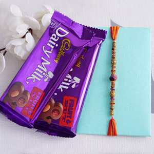 Fruity Nutty Rakhi Delight