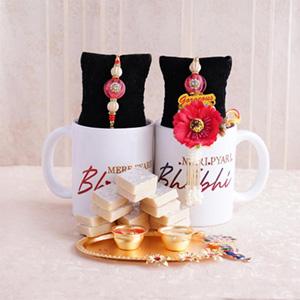 Sweetest Bhaiya Bhabhi Rakhi Combo