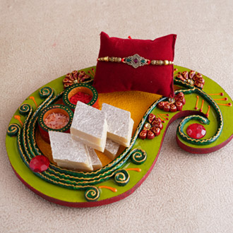 Delicious Rakhi Thali of Affection