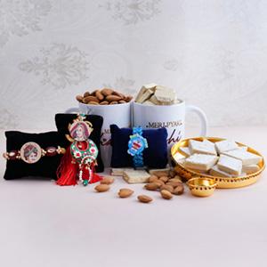 Extravagant & Tasty Bhaiya Bhabhi Hamper