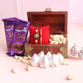 Antique Box of Scrumptious Surprises