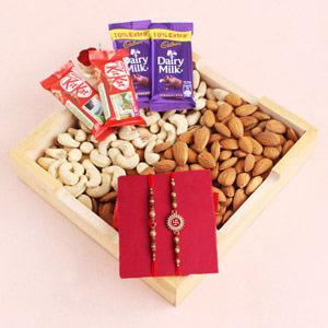 Choco Nutty Raksha Bandhan Hamper