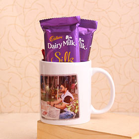 Personalized Mug with Chocolates - Gifts For Brother Online