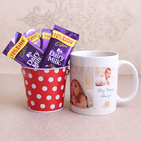 Chocolaty Personalized Mug - Gifts For Brother Online