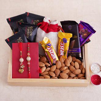 Fantastic Rakhi Gift for Couple