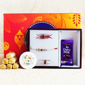 Gratifying Rakhi Signature Box