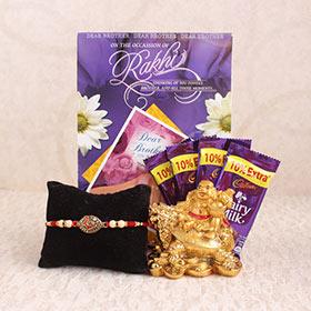 Antique Rakhi Gifts for Bro