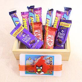 Chocolates Loaded Angry Bird Hamper
