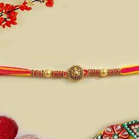 Designer Pearl Rakhi - Traditional Rakhi