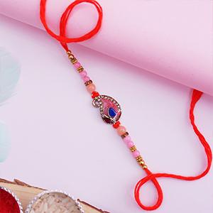 Designer Rakhi with Pearls