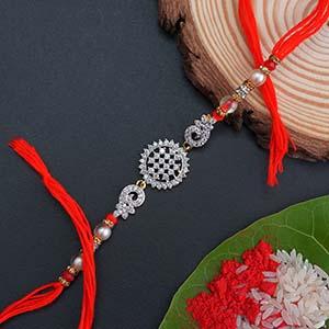Designer AD Rakhi - Traditional Rakhi