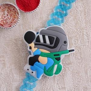 Pubg Bracelet Rakhi for Kids
