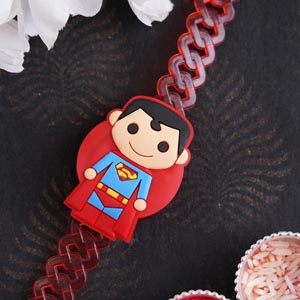 Superman Kids Rakhi Bracelet