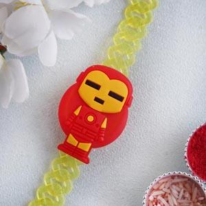Iron Man Kids Bracelet Rakhi