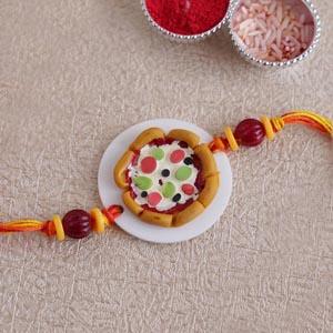 Pizza Rakhi for Kids
