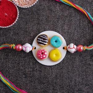 Doughnut Rakhi for Kids