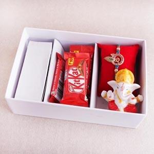 Krishna Rakhi and Chocolates in Signature Box