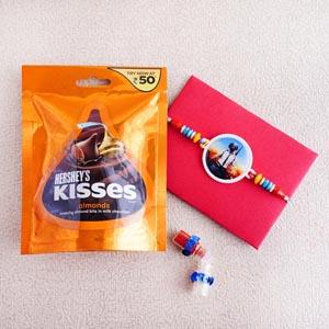 PUBG Rakhi and Kisses Almond Chocolates