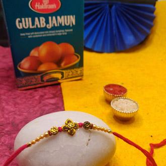 Gulab Jamun With Astonishing Rakhi