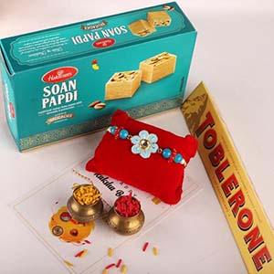 Enamelled Rakhi & Soan, Toblerone
