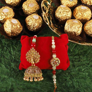 Rakhi Loomba with Ferrero