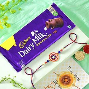 Chocolates with Captain America