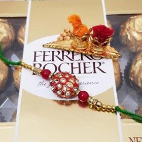 Rakhi & Ferrero Rocher