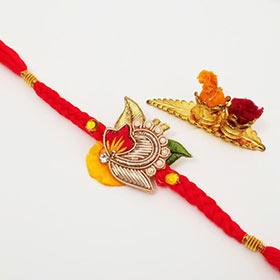 Floral Solo Rakhi