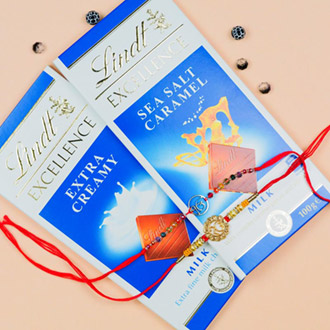 Two Onkar With Lindt Bars